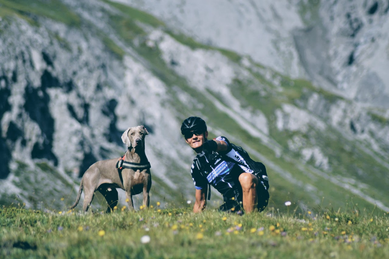mtb tour with dog 5