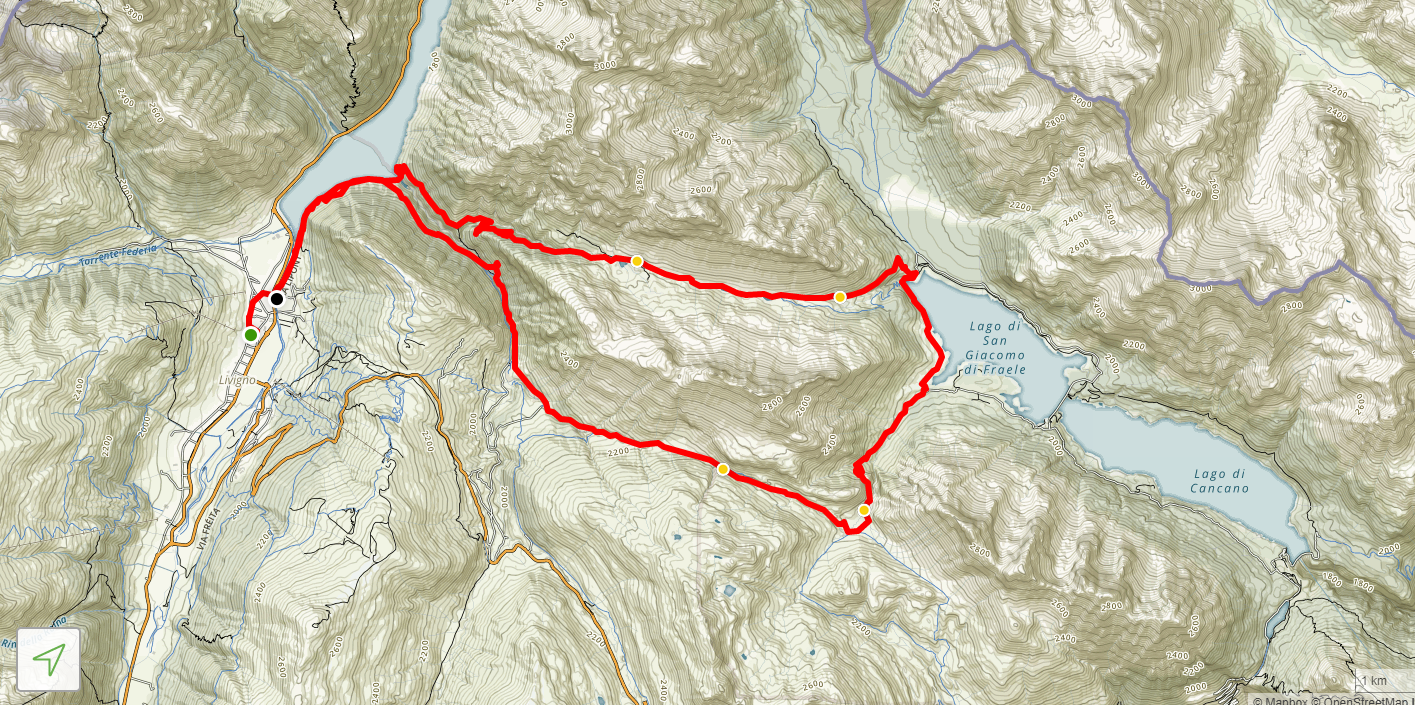 Alpisella trela mtb map