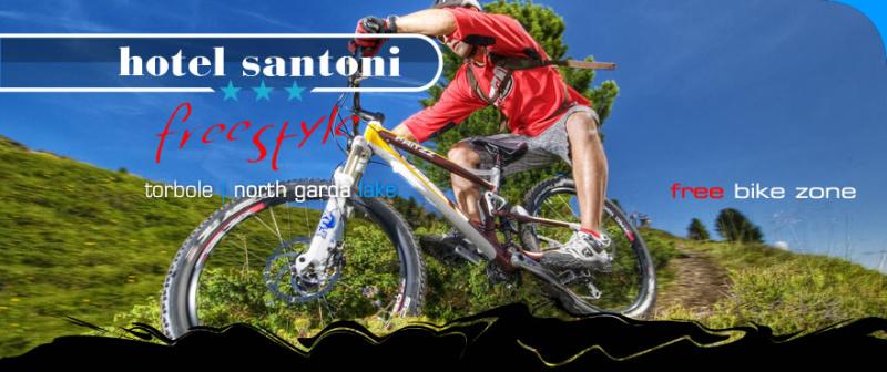 Bike hotel Santoni torbole Garda