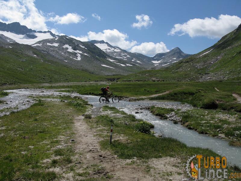 donne in mountain bike