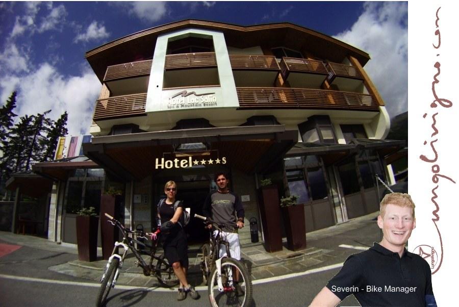 livigno bike hotel lac salin
