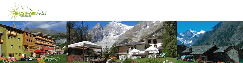 bike hotels valle d'Aosta