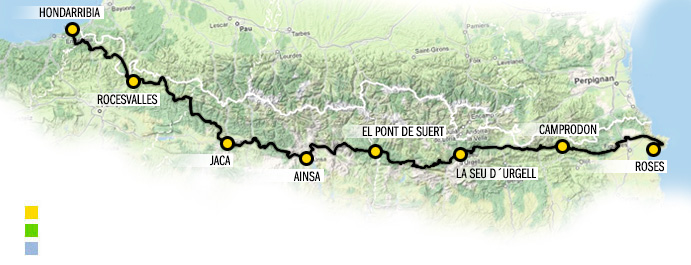 transpyr-itinerario-route