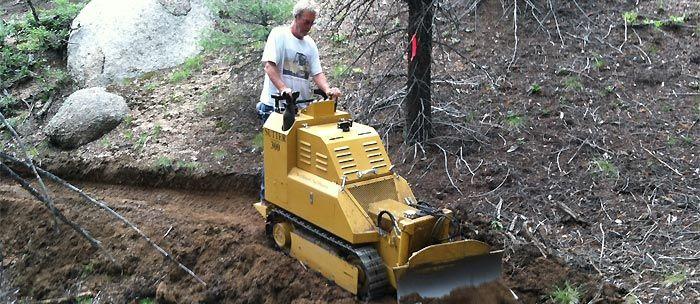 costruzione e manutenzione sentieri